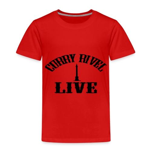 Curry Rivel Live Logo - Kids' Premium T-Shirt