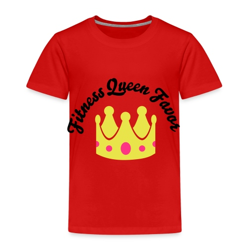 Fitness Queen Favor - Kids' Premium T-Shirt