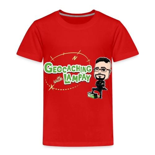 Geocaching With Lampay - T-shirt Premium Enfant