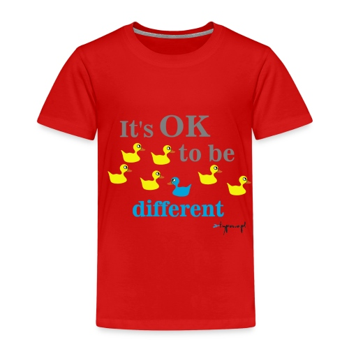 It's OK to be different - Koszulka dziecięca Premium