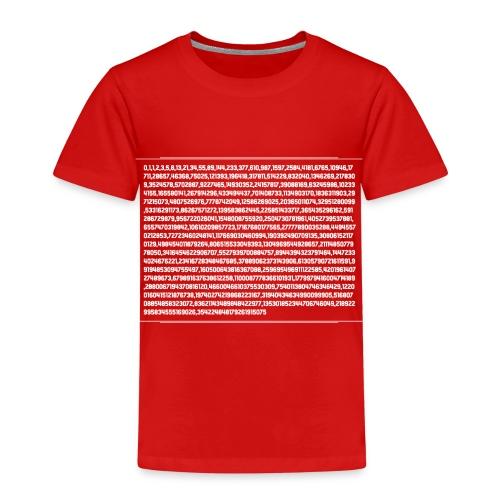 fibonacci ShirtW - Kids' Premium T-Shirt