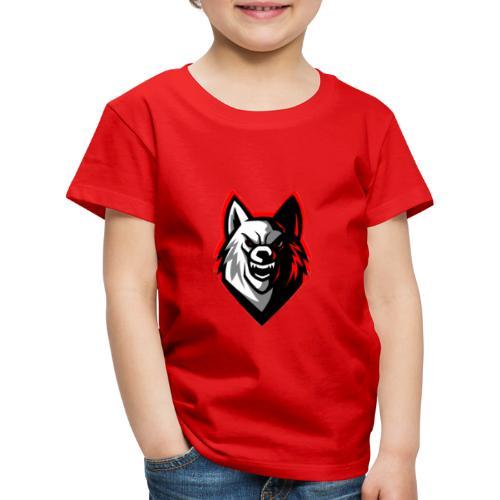 W0lFiii - Børne premium T-shirt