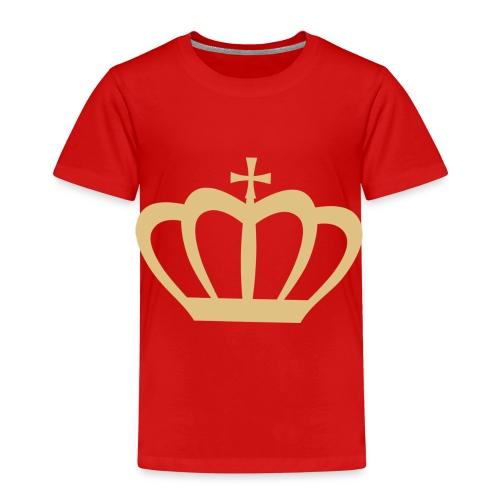 Krone gold - Kinder Premium T-Shirt
