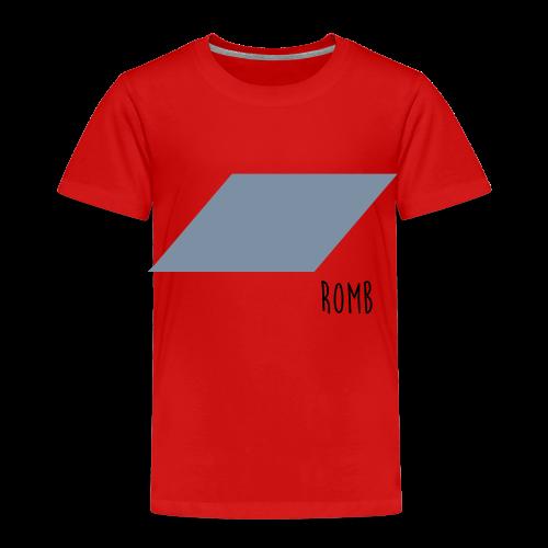 Romb Ekologisk T-shirt - Premium-T-shirt barn