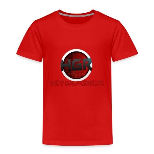 logo + tekst! - Kinderen Premium T-shirt