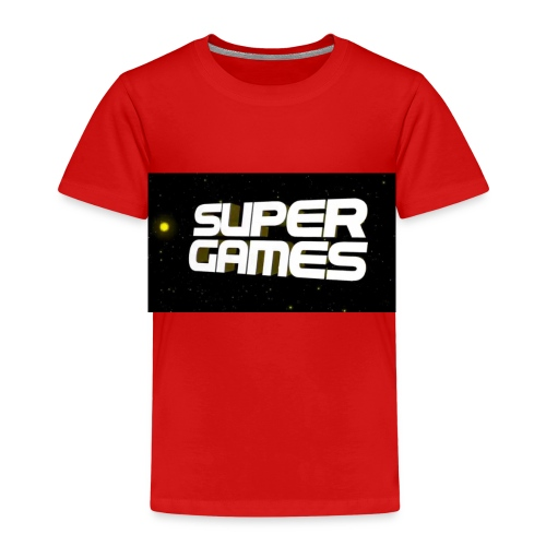 #SuperGames - Kinder Premium T-Shirt