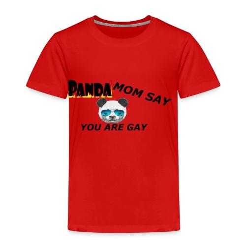 Marlon`s Panda MAMA - Kinder Premium T-Shirt