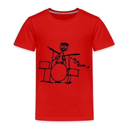 Drummer - BA dum - - Kinder Premium T-Shirt