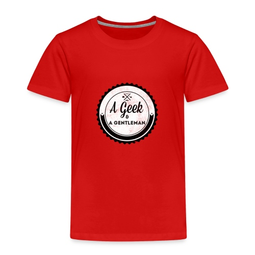 Geek gentleman - Camiseta premium niño