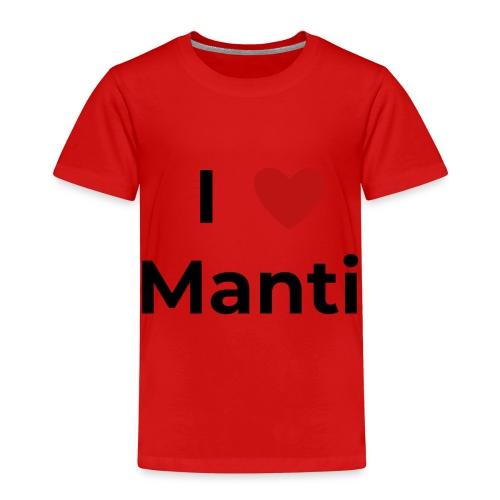 I love Manti - Kinder Premium T-Shirt