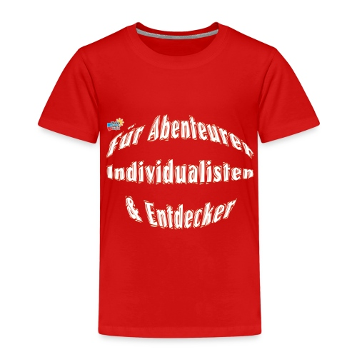 Abenteuerer Individualisten & Entdecker - Kinder Premium T-Shirt
