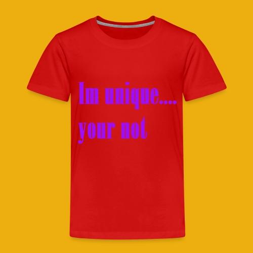 izel and halle unique merch - Kids' Premium T-Shirt