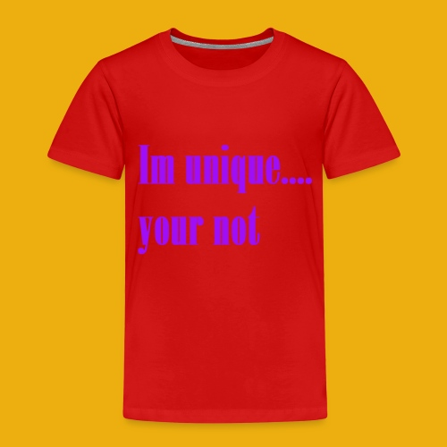 I and H unique merch - Kids' Premium T-Shirt