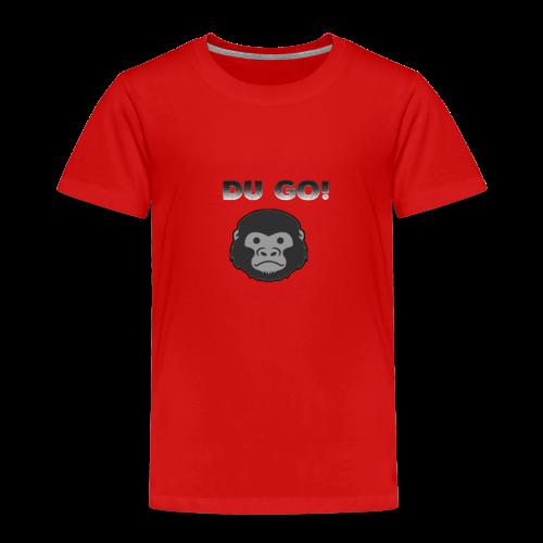 DU GORILLA - Kinder Premium T-Shirt