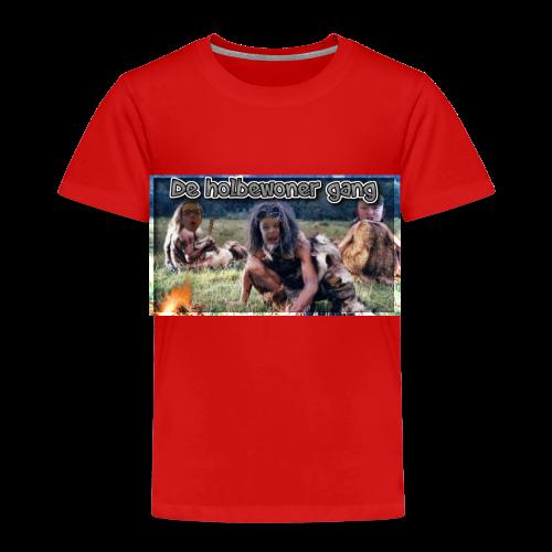 holbewoner gang - Kinderen Premium T-shirt