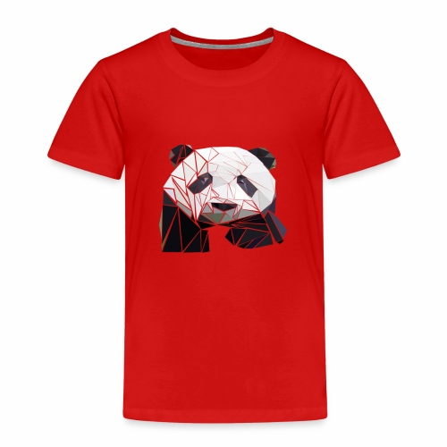 Polygon Panda - Kinder Premium T-Shirt