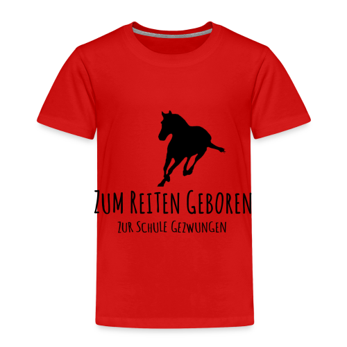 Cooles Reiten Design - Kinder Premium T-Shirt