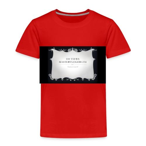 we hit 100 views - Kids' Premium T-Shirt