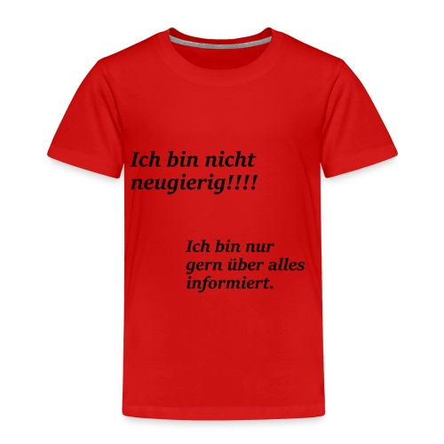 Informiert - Kinder Premium T-Shirt
