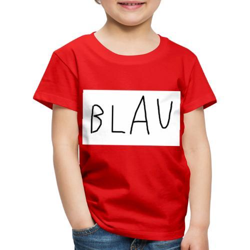 Blau - Kinder Premium T-Shirt