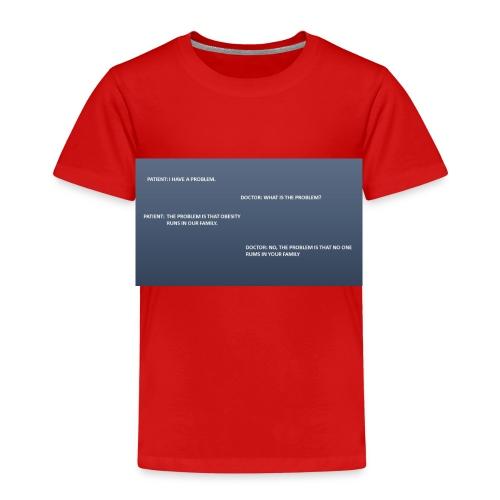 Running joke t-shirt - Kids' Premium T-Shirt
