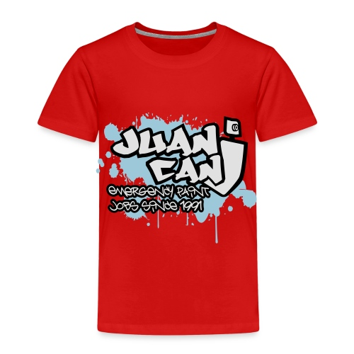 Juan can logo for spreadshirt - Kids' Premium T-Shirt