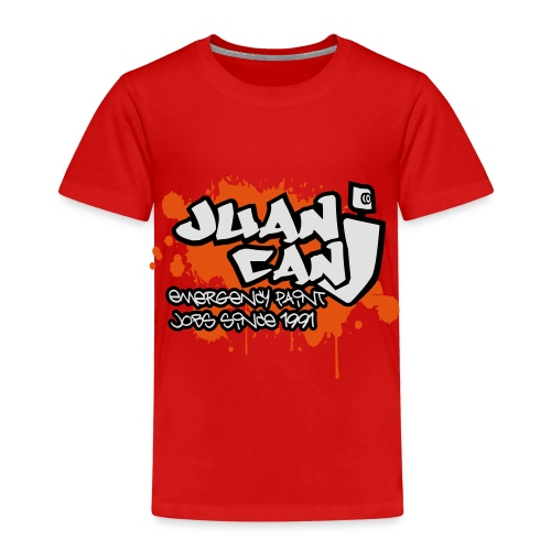 Juan can logo for spreadshirt Orange - Kids' Premium T-Shirt