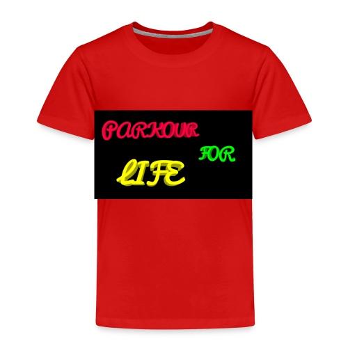Parkour for Life graffiti merchandise - Kids' Premium T-Shirt