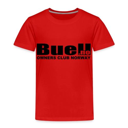 Sort Logo - Premium T-skjorte for barn