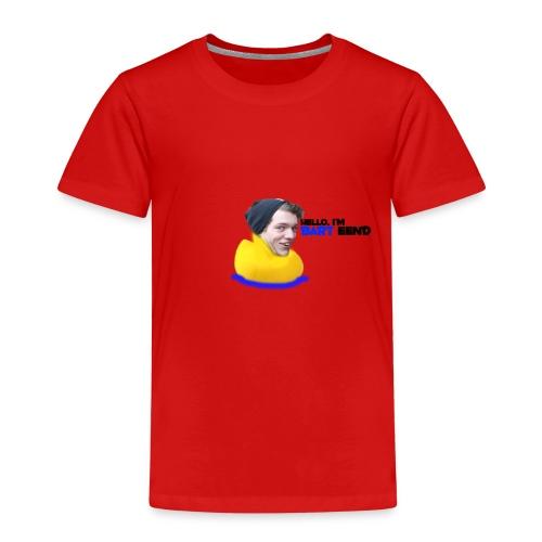 Hello i'm Bart Eend - Kinderen Premium T-shirt