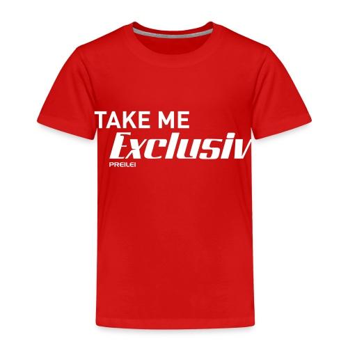 Take me Exclusiv - Kinder Premium T-Shirt
