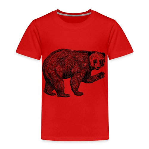 Bear Bamboozle - Kinder Premium T-Shirt