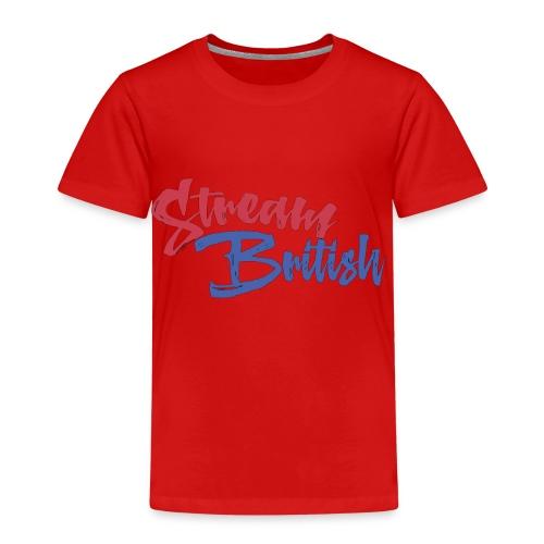 StreamBritish Logo - Kids' Premium T-Shirt