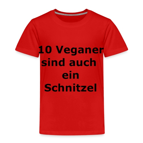 Veganer Fun - Kinder Premium T-Shirt