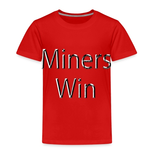 MinersWin Grunde - Kinder Premium T-Shirt