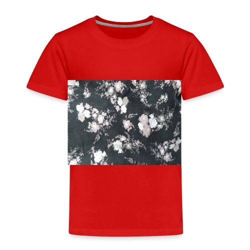 Dark Flowers - Kinder Premium T-Shirt