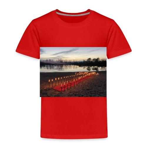 hochzeitsantrag am See - Kinder Premium T-Shirt