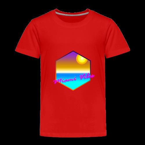 Miami Vibes - Kinder Premium T-Shirt