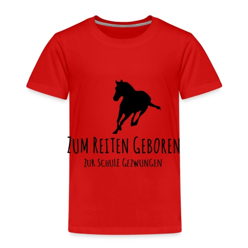 Cooles Reiten Design - Kinder Premium T-Shirt