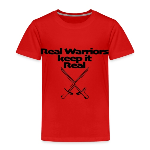 12 Real Warriors keep it Real - Kinder Premium T-Shirt