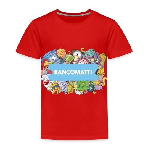 Bancomatti DOODLE 1 - Maglietta Premium per bambini