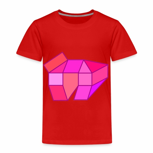 Rosa - Kinder Premium T-Shirt