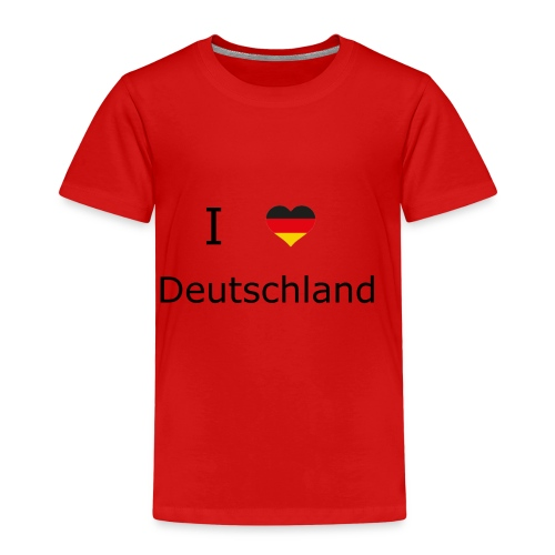 I Love Deutschland - Kinder Premium T-Shirt