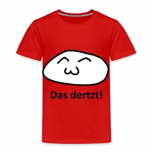 Das dertzt - süßes Gesicht einfach - Kinder Premium T-Shirt