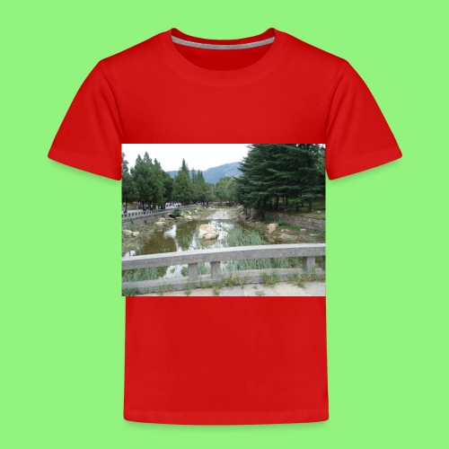 Fluss China 1400xX - Kinder Premium T-Shirt