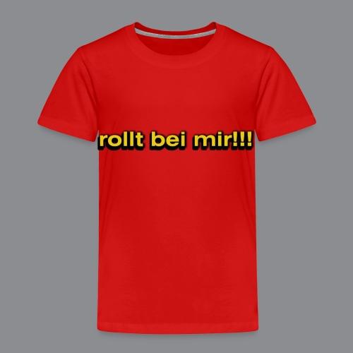rollt bei mir - Kinder Premium T-Shirt