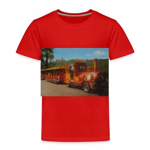 Alter Zug zur Wartburg in Eisenach um 1990 - Kinder Premium T-Shirt
