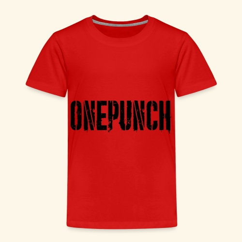 Boxing Boxen Kampfsport mma tshirt one punch - Kinder Premium T-Shirt