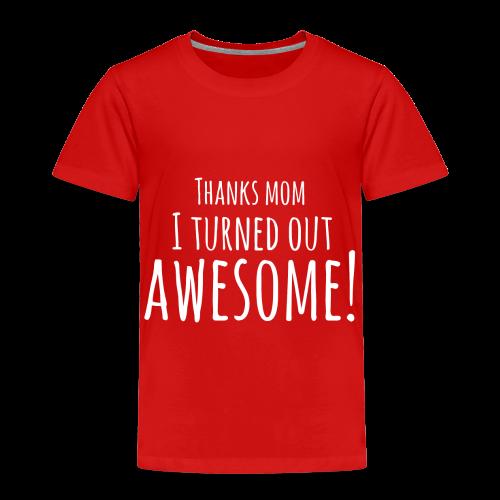 awesome - Kinderen Premium T-shirt