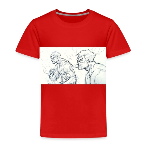 Drawing_1-jpg - Kids' Premium T-Shirt